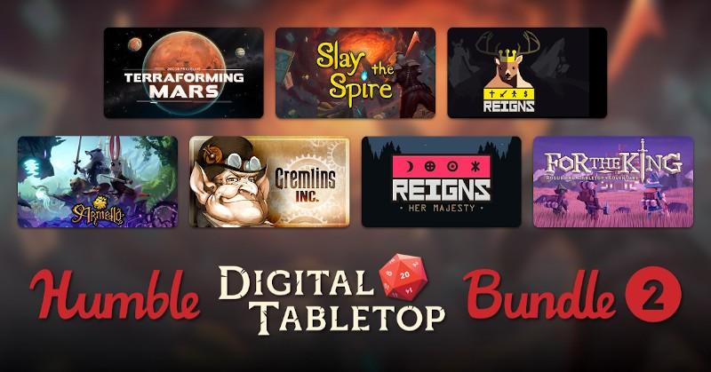 Humble Digital Tabletop Bundle 2